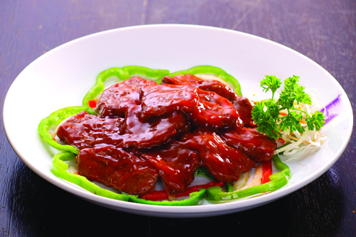 beef fillet New Dish on Super Bowl of China!