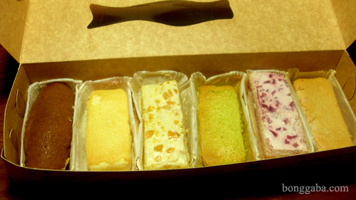 box of 6 shortcake Supreme Brazo Bars by Ces Lopez