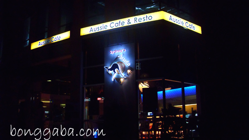 exteior Sydneys Aussie Cafe and Restaurant in Alabang