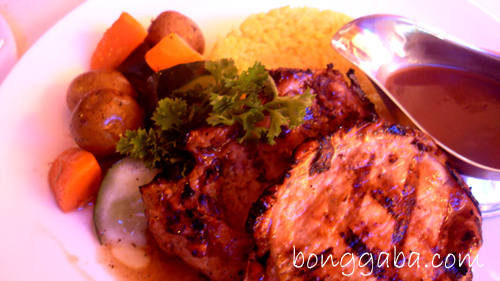 grilled pork chops Sydneys Aussie Cafe and Restaurant in Alabang