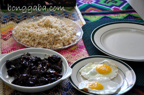 TAPSILOG Good Morning Manila! Pinoys Favorite Breakfast