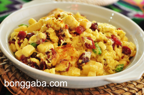 Scrambled Cheesy Chorizo Scrambled Cheesy Chorizo Recipe