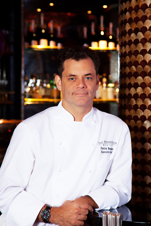 The Peninsula Manila Executive Chef Patrick Boucher Chef from The Peninsula Manila at The Maya Kitchen this September 