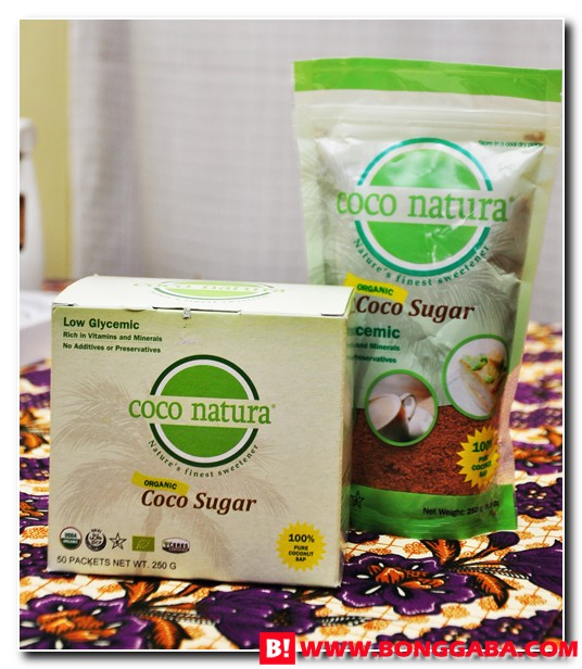 Coco Natura a Low Glycemic Sweetener