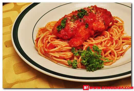 Chicken Parmigiana Pasta Recipe