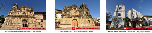LAGUNA CHURCHES