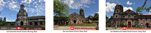 RIZAL CHURCHES