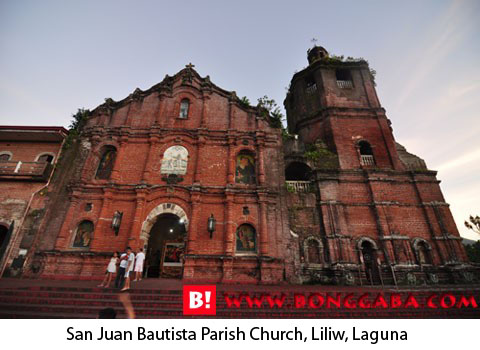 San Juan Bautista Parish Church, Liliw, Laguna