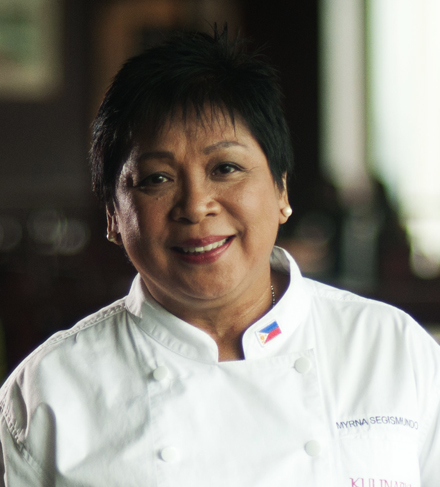 Chef Myrna Segismundo at The Maya Kitchen this April