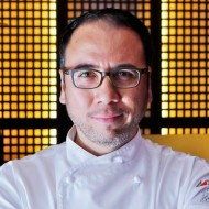 Chef Fernando Aracama at the Maya Kitchen this November
