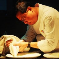 Lolo Dad's Chef Ariel Manuel at The Maya Kitchen