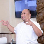 Chef Tatung Sarthou at The Maya Kitchen